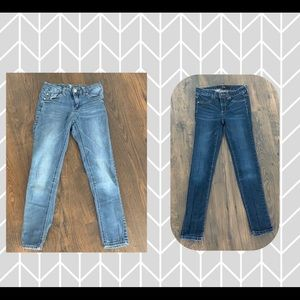 Bundle of girl jeans- Joe's & 7 for all Mankind